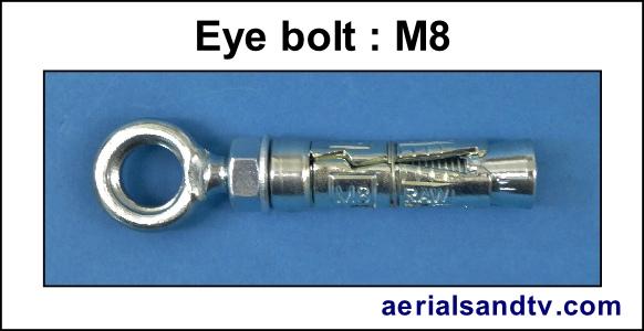 M8 eye bolt 303W L5