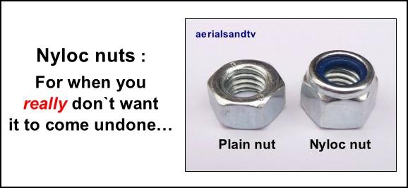 Nyloc nuts 578W L5