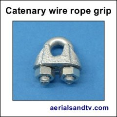 Rope grip for catenary wire 300Sq L5