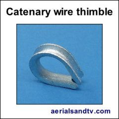 Thimble for catenary wire 300Sq L5