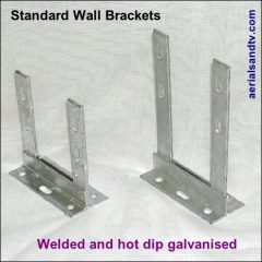 Wall brackets (standard) welded and hot dip galvanised 1 466W L5