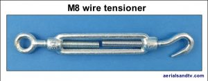 Wire tensioner M8 239H L5
