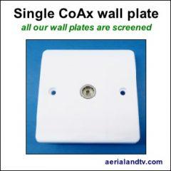 CoAx single wall plate screened 304Sq L5