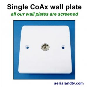 CoAx single wall plate screened 304Sq L5