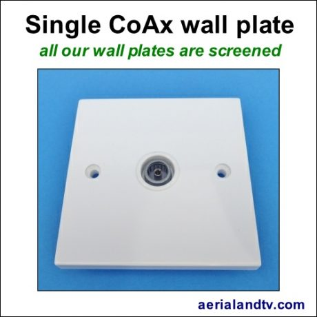 CoAx single wall plate screened 505Sq L5