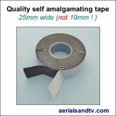 Self amalgamating tape 25mm wide 400Sq L5