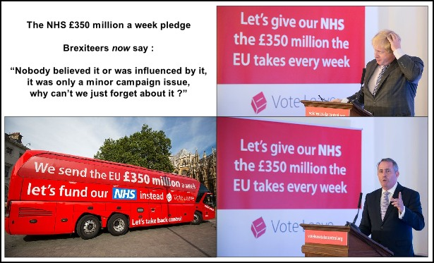 Leave NHS £350 million a week 615W