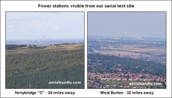 Power stations visible from our aerial test site 2015 587W L10