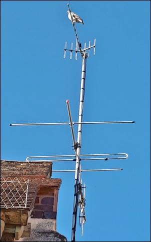 Yagi10K plus FM3 plus DAB aerial install 302W L5