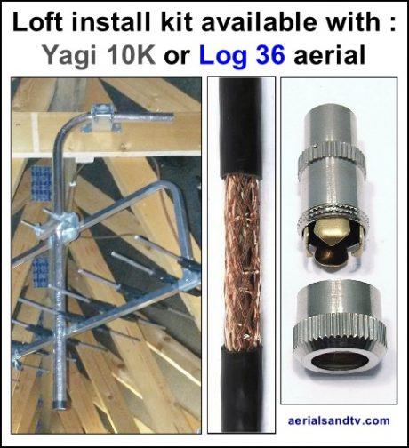 Loft aerial kit 532H L5