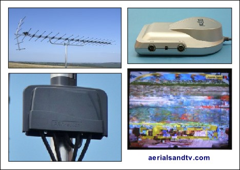 FAQs aerials, amplifiers (boosters), digital Freeview reception issues 468W L10