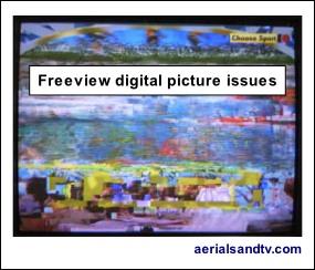 FAQs digital Freeview reception 285W L10